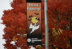 Haunted Happenings Banner