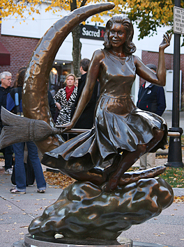 Salem Bewitched Statute
