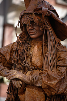 Salem Bronze Witch