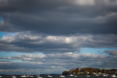 Salem Harbor Sky