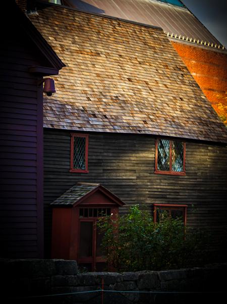 Halloween Sunset in Salem